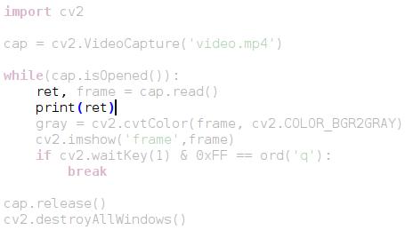 Open CV  Основы работы с видео » SYSTOP